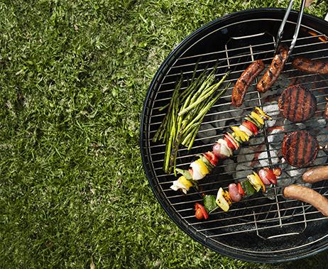 Barbecue végétal vegan